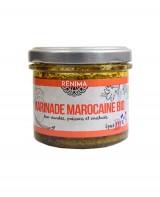 Sauce marocaine - marinade viandes et poissons pimentée bio  - Les Saveurs de Rénima