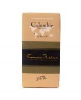 Tablette chocolat noir Colombie - Pralus