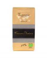 Tablette chocolat noir Tanzanie bio - Pralus