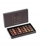 Coffret Les Pralinés d'Exception - 32 chocolats - Fabrice Gillotte