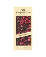 Tablette chocolat noir - framboise - Comptoir du Cacao