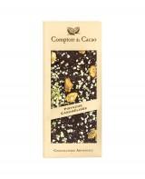 Tablette chocolat noir - pistache caramélisée - Comptoir du Cacao