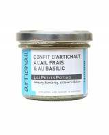 Confit d'artichaut à l'ail frais et au basilic - Artichail - Petits Potins (Les)