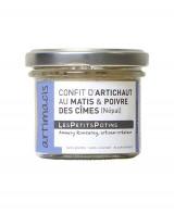 Confit d'artichaut au macis et poivre des cimes - Artimacis - Petits Potins (Les)