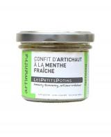 Confit d'artichaut à la menthe fraiche - Artimenthe - Petits Potins (Les)