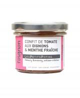 Confit de tomate aux oignons et à la menthe fraîche - Toignon - Les Petits Potins