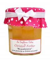 Confiture Ma Préférence - pêche jaune, orange  - Christine Ferber