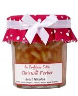 Confiture de Saint Nicolas aux pommes, citron, coings, oranges et pain d'épices - Christine Ferber