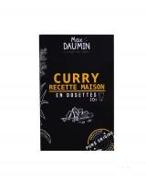 Curry doux maison - dosettes fraîcheur - Max Daumin