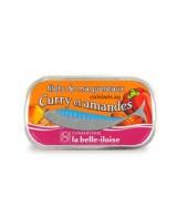 Filets de maquereaux cuisinés au curry et amandes - La Belle-Iloise