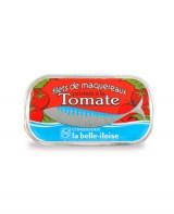 Filets de maquereaux cuisinés à la tomate - La Belle-Iloise