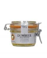 Foie gras de canard entier 120 g - Dupérier