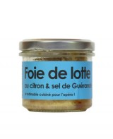 Rillettes de foie de lotte au citron et sel de Guérande - L'Atelier du Cuisinier