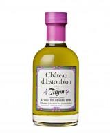 Huile d'olive aromatisée au thym - Château d'Estoublon