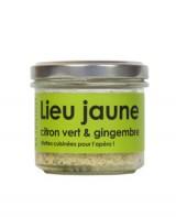 Rillettes de lieu jaune, citron vert et gingembre - L'Atelier du Cuisinier