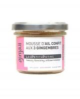 Mousse d'ail confit aux 3 gingembres - Ginjail - Les Petits Potins