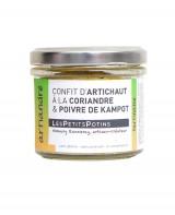 Confit d'artichaut à la coriandre et au poivre de Kampot - Artiandre - Les Petits Potins