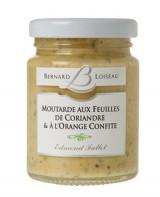 Moutarde feuilles de coriandre et orange - Fallot