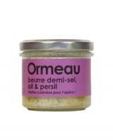 Rillettes d'ormeau, beurre demi-sel , ail et persil - L'Atelier du Cuisinier
