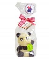 Panda au chocolat blanc - Chocolaterie Daniel Mercier