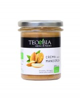 Pâte à tartiner - crème d'amandes bio - Teo & Bia
