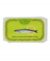 Petites sardines à l'huile d'olive et au citron - Calle el Tato