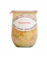 Plat cuisiné flamand Waterzoi de poulet  - Conserverie Saint-Christophe
