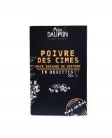 Poivre des cimes - dosettes fraîcheur - Max Daumin