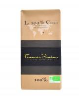 Tablette chocolat noir 100% Madagascar bio - Pralus
