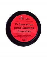 Préparation pour saumon Gravelax - Maison Charteau