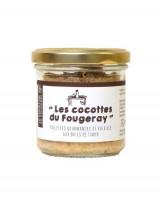 Rillettes gourmandes de volaille aux baies de Timur - Comptoir Fougeray