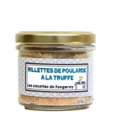 Rillettes de poularde à la truffe - Le comptoir du Fougeray