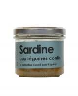 Rillettes de sardine aux légumes confits - L'Atelier du Cuisinier
