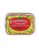Sardines à l'huile d'olive et à la tomate - Belle-Iloise (La)