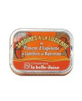 Sardines à la luzienne - La Belle-Iloise