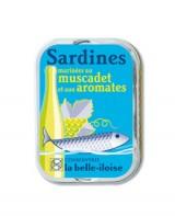 Sardines marinées au muscadet et aux aromates - La Belle-Iloise