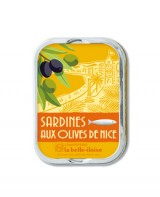 Sardines aux olives de Nice - La Belle-Iloise