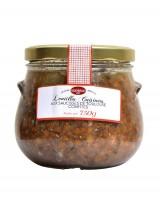 Lentilles cuisinées aux saucisses de Toulouse confites - Sudreau