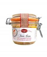 Foie gras de canard entier au poivre de Sarawak - Sudreau