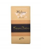 Tablette chocolat au lait Mélissa - Pralus