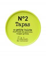Tapas de petits bulots et marinade de poivrons rouges grillés - L'Atelier du Cuisinier
