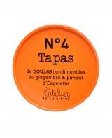 Tapas de moules au gingembre et piment d'Espelette - L'Atelier du Cuisinier