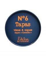 Tapas N°6 - Vénus et coques façon ceviche - L'Atelier du Cuisinier