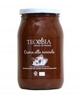 Pâte à tartiner - crème de noisettes du Piémont bio 1 kg - Teo & Bia