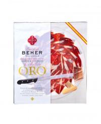 Jambon bellota 100% ibérique Pata Negra - tranché à la main - Beher