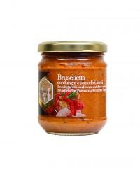 Bruschetta aux champignons et aux tomates séchées - Mastrototaro