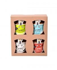 Caramel au beurre salé - coffret 4 parfums - Rozell et Spanell