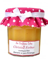 Confiture de banane et jus d'orange - Christine Ferber