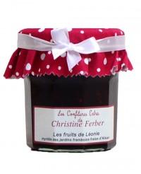 Confiture Les fruits de Léonie - myrtille, fraise et framboise  - Christine Ferber