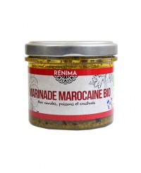 Chermoula douce bio - marinade viandes et poissons  - Les Saveurs de Rénima